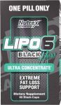 NUTREX Lipo 6 Black Hers Ultra Concentrate 60caps