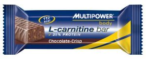 Купить MULTIPOWER Body L-carnitine 25% protein bar в Москве, цена на спортивный батончик MULTIPOWER Body L-carnitine 25% protein bar в интернет-магазине Iw-Shop