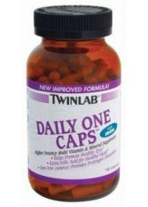 Купить TWINLAB Daily one with iron 60caps в Москве, цена на спортивный витамин TWINLAB Daily one with iron 60caps в интернет-магазине Iw-Shop