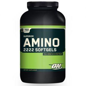 Купить OPTIMUM NUTRITION Superior Amino 2222 150softgels в Москве, по доступной цене в интернет-магазине Iw-Shop