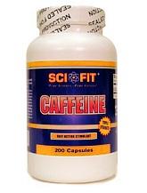 Спортивный энергетик SCIFIT Caffeine 200caps - купить в интернет-магазине спортивного питания по выгодной цене