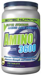 Купить SCITEC NUTRITION Amino 3600 350tabs в Москве, по доступной цене в интернет-магазине Iw-Shop