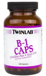 Купить TWINLAB B-1 Caps 100caps в Москве, цена на спортивный витамин TWINLAB B-1 Caps 100caps в интернет-магазине Iw-Shop