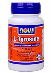 Купить NOW L-Tyrosine 60caps в Москве, по доступной цене в интернет-магазине Iw-Shop