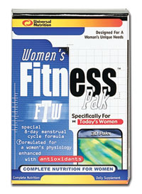 Купить UNIVERSAL WOMENS FITNESS PAK 30packs в Москве, цена на спортивный витамин UNIVERSAL WOMENS FITNESS PAK 30packs в интернет-магазине Iw-Shop