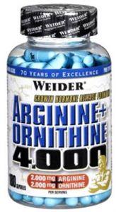 Купить WEIDER Arginine+Ornithine 4000 180caps в Москве, по доступной цене в интернет-магазине Iw-Shop