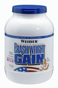 Купить WEIDER Crash Weight Gain 1500g в Москве, по доступной цене в интернет-магазине Iw-Shop