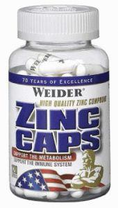 Купить WEIDER Zinc  120caps в Москве, цена на спортивный витамин WEIDER Zinc  120caps в интернет-магазине Iw-Shop