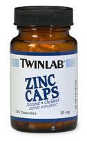 Купить TWINLAB Zinc 30mg 100caps в Москве, цена на спортивный витамин TWINLAB Zinc 30mg 100caps в интернет-магазине Iw-Shop